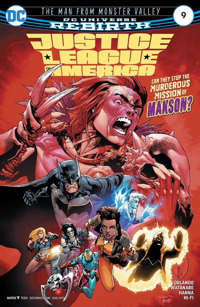 Justice League of America 9 (cbr)