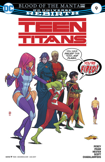 Teen Titans 9 (cbr)