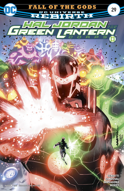 Hal Jordan & the Green Lantern Corps 29 (cbr)
