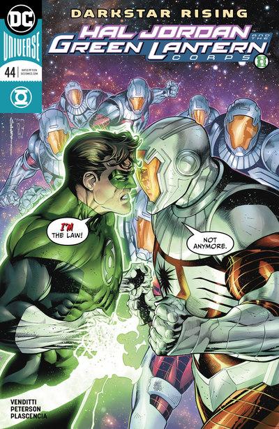 Hal Jordan & the Green Lantern Corps 44-45 (cbr)