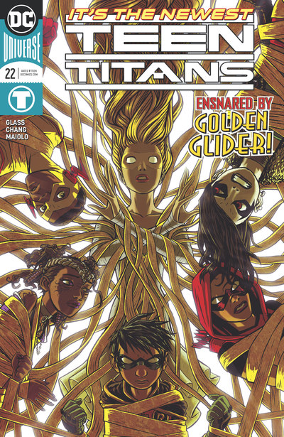 Teen Titans 22 (cbr)